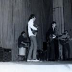 EVIG kulturház 1968 balról: Csurgai Attila-Dandó Péter-Hajós Frédi-Aczél Ferenc 1968