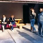 Koncz Turné délelőtti napozás 1987