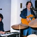 Attilánál Zorán próba 1987.