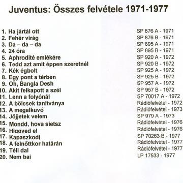 Juventus összes