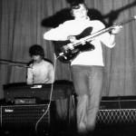 Soós András - Dandó Péter az EVIG kulturház szinpadán 1968