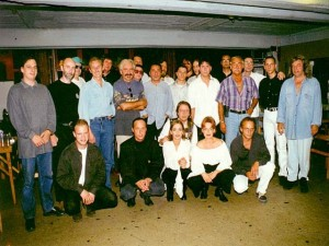 Pipo emlék  koncert a PECSA-ban 1997. szeptember 13-án