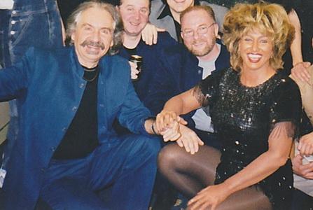Csurgai Attila & Tina Turner  Pannonia Express turnén 1999